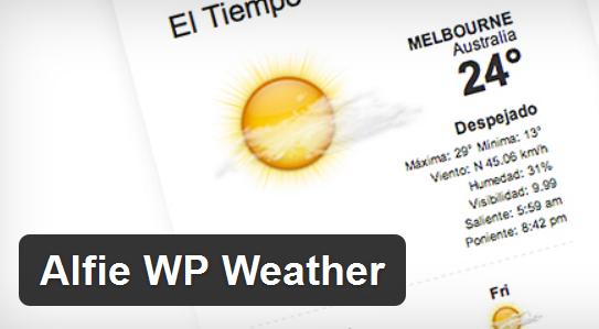 Alfie_wp_weather
