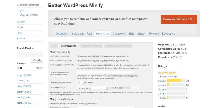 Better-WordPress-Minify