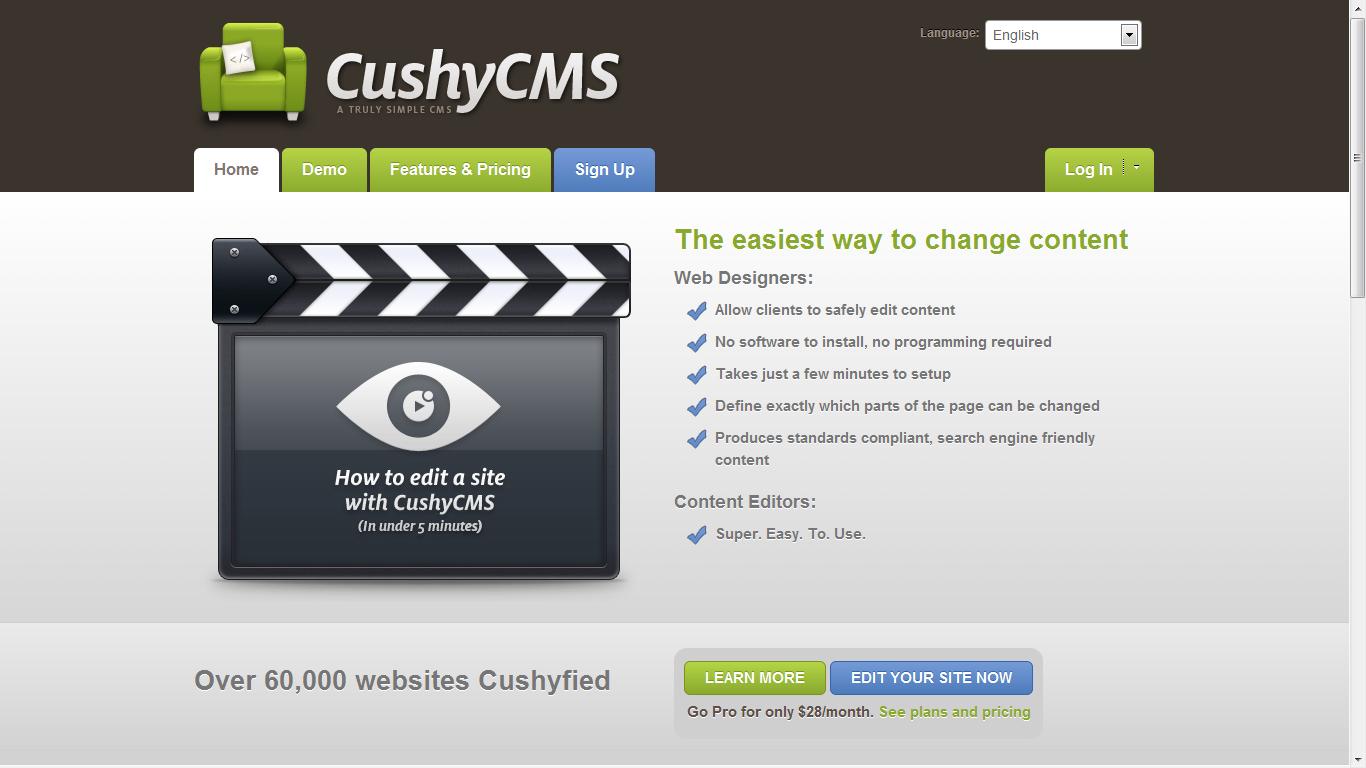 Cushy-CMS