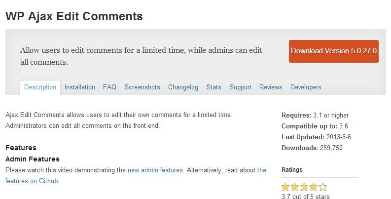 WP-Ajax-Edit-Comments-Plugin