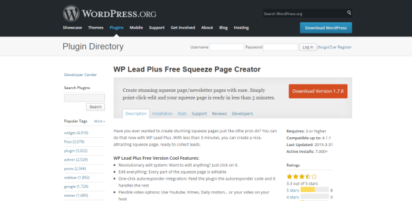 WP-Lead-Plus-Free-Squeeze-Page-Creator