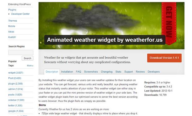 Weather-for-us-widget-WordPress-Weather-Widget