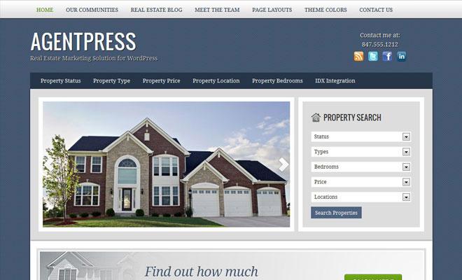 agentpress-studiopress-genesis-wordpress-child-theme