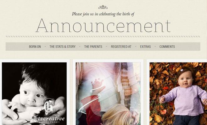 announcement-wordpress-wedding-theme