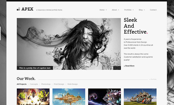 30 Responsive WordPress Portfolio Themes To Showcase Your Work ...