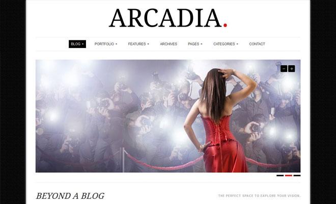 arcadia-responsive-minimal-wordpress-theme