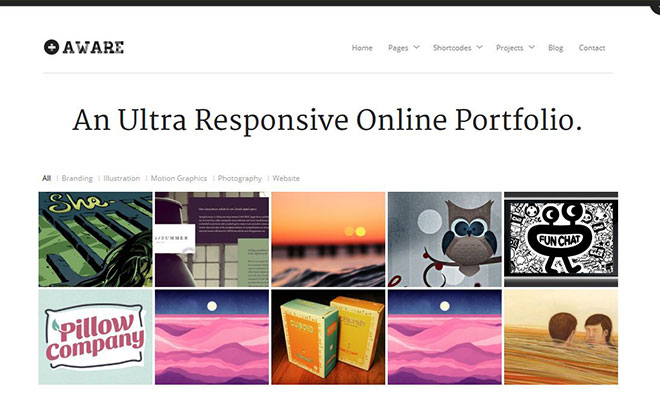 aware-wordpress-responsive-portfolio-theme