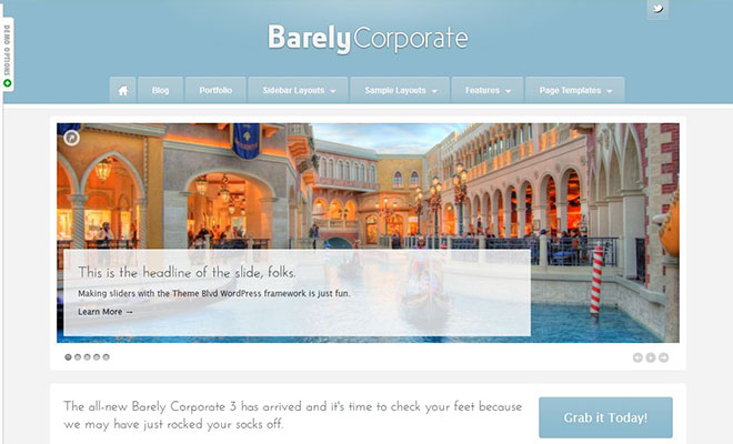 barely-corporate-responsive-wordpress-business-theme