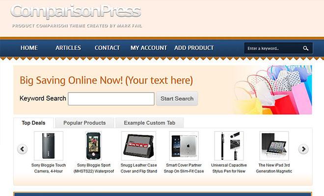 comparisonpress-wordpress-price-comparison-theme