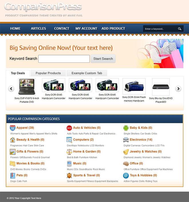 comparisonpress-wordpress-shopping-price-comparison-theme-homepage