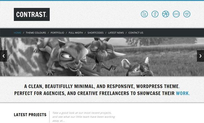 contrast-responsive-minimal-wordpress-theme