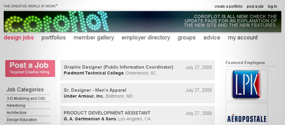 coroflot-freelance-job-board2