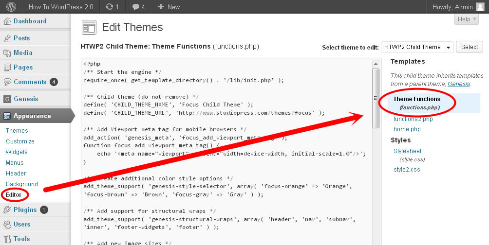 edit-functions-php