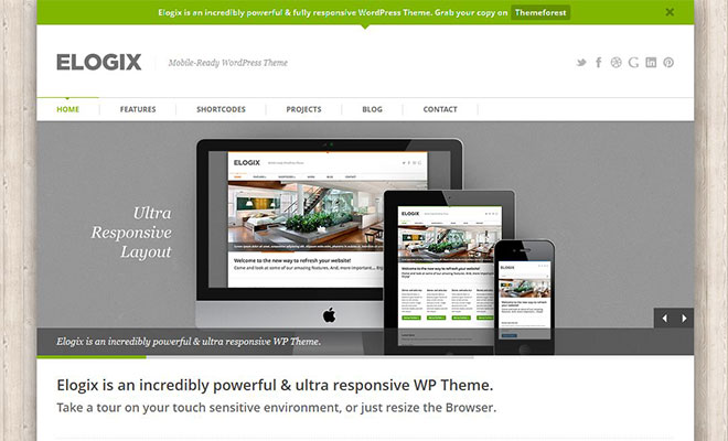 35 responsive wordpress business corporate themes lightning rank elogix responsive wordpress business theme flashek Images