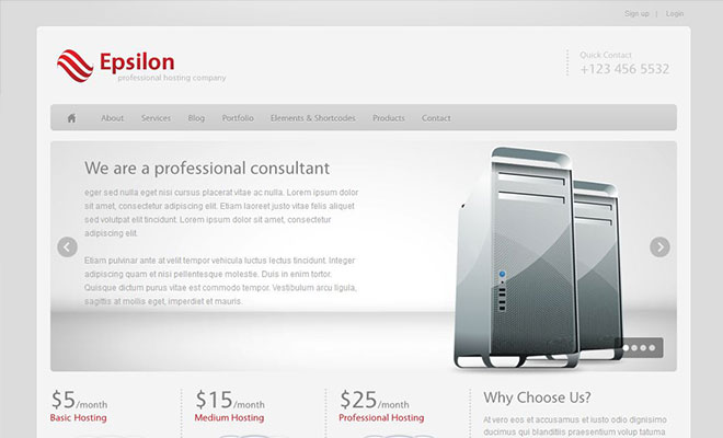 epsilon-wordpress-hosting-theme