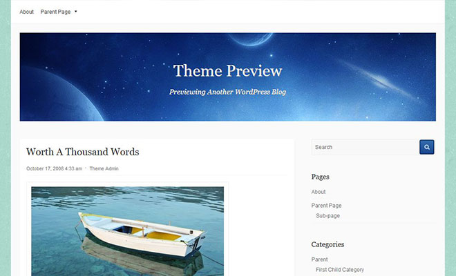 galaxy-free-wordpress-theme
