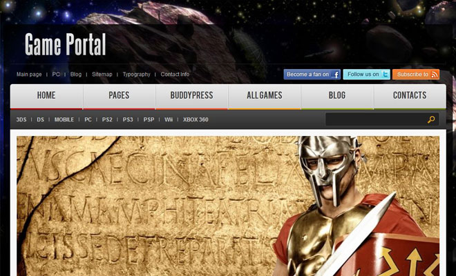 gameportal-wordpress-buddypress-theme