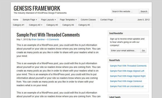 genesis-wordpress-theme-framework