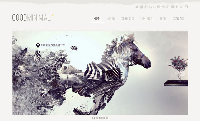 30 Responsive Minimal WordPress Themes - Lightning Rank - Private ...