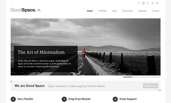 goodspace-responsive-minimal-wordpress-theme