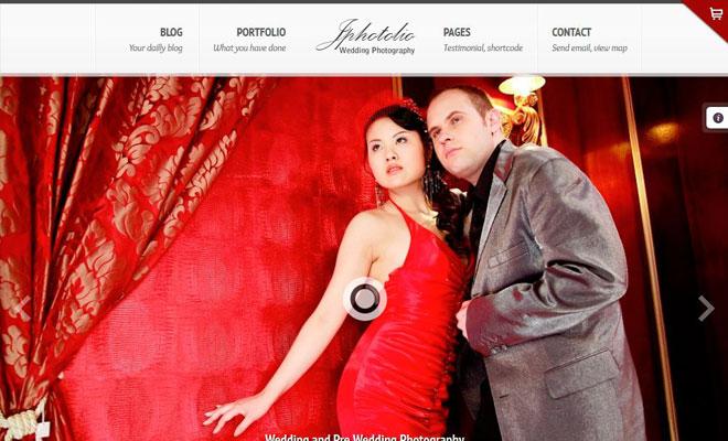 jphotolio-wordpress-wedding-theme
