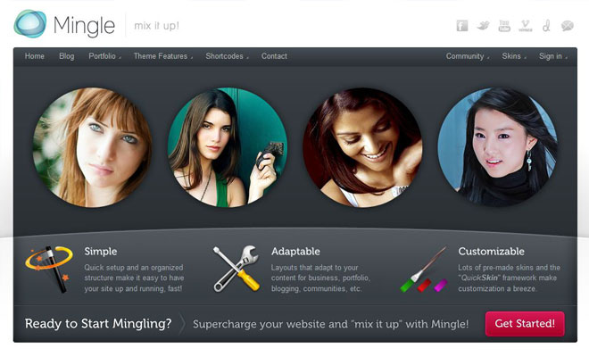 mingle-wordpress-buddypress-theme