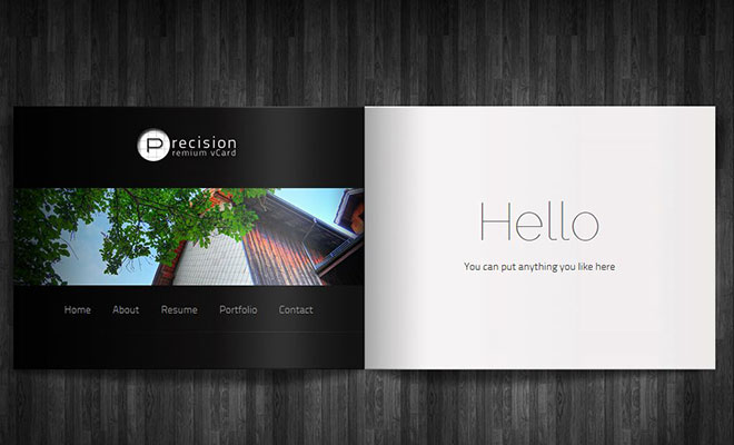 precision-personal-vcard-wordpress-theme