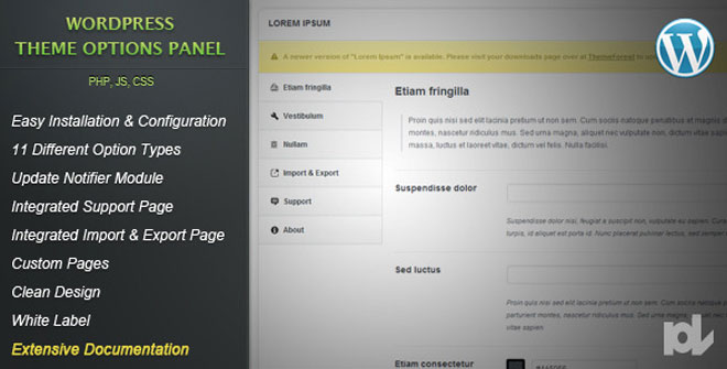 premium-wordpress-theme-options-panel
