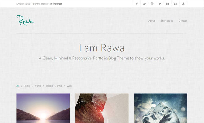 rawa-responsive-minimal-wordpress-theme