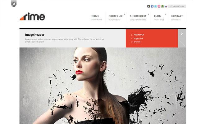 rime-responsive-wordpress-portfolio-theme