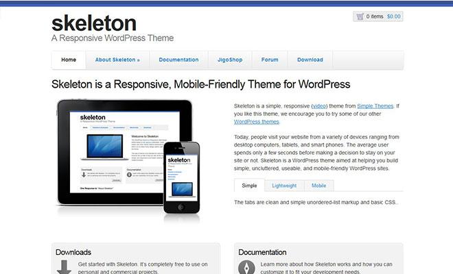 skeleton-responsive-wordpress-theme-framework