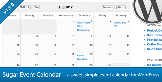 Wordpress Calendar Plugins For Event Booking And Post Archives