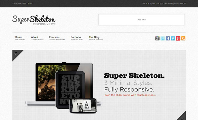 super-skeleton-responsive-minimal-wordpress-theme
