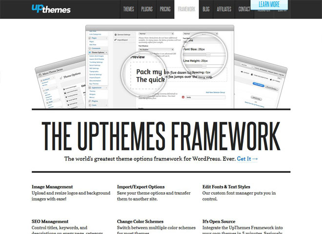 upthemes-wordpress-theme-framework