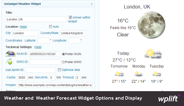 weather-forecast-widget