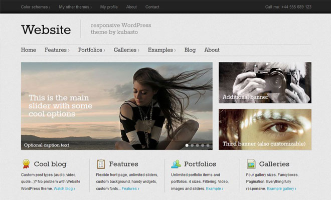 website-responsive-minimal-wordpress-theme
