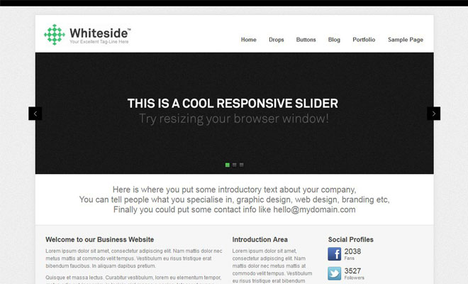 whiteside-responsive-minimal-wordpress-theme