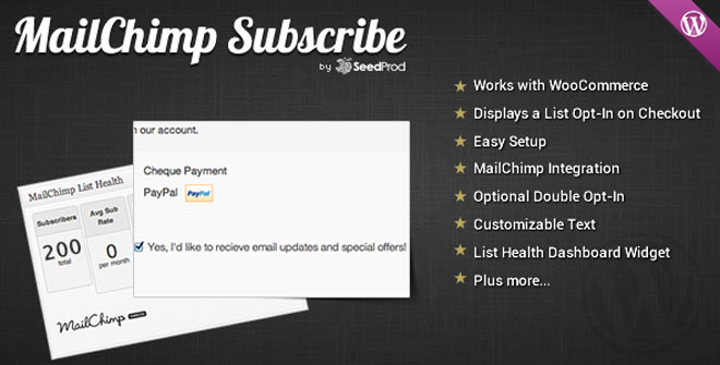 woocommerce-mailchimp-subscribe-module