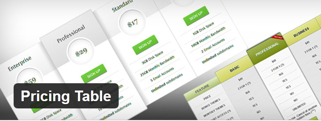 wordpress-free-pricing-table-plugin