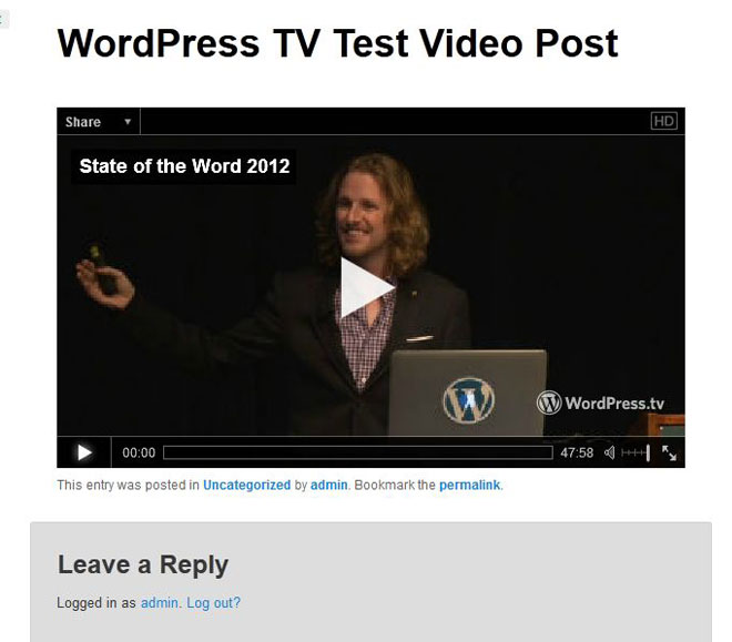 wordpress-tv-shortcode-video-embed-after-function