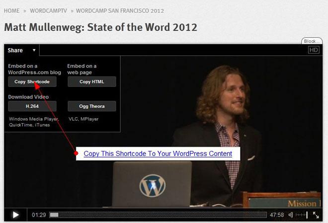 wordpress-tv-shortcode-video-embed