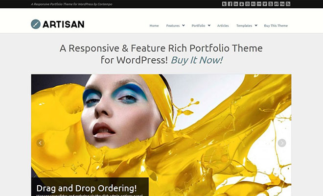 wp-artisan-responsive-wordpress-portfolio-theme