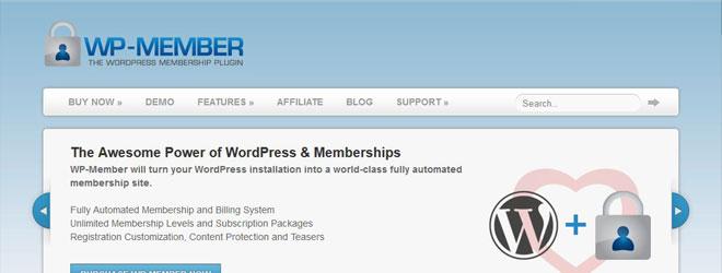wp-member-wordpress-membership-plugin