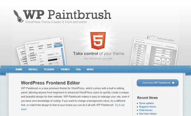 wp-paintbrush-wordpress-theme-framework