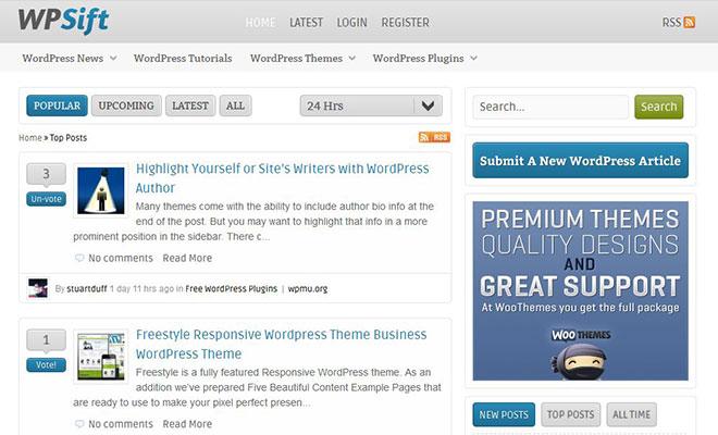 wpsift-wordpress-social-bookmarking-site